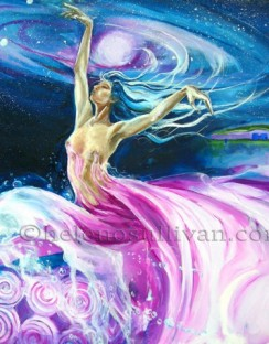 The Goddess Boann 'Going with the Flow'