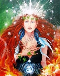 Goddess Aine.