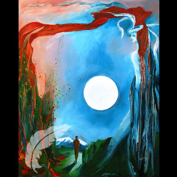 Ancestral Whisperings - Mythical Art Helen O'Sullivan Milltown Kerry Ireland
